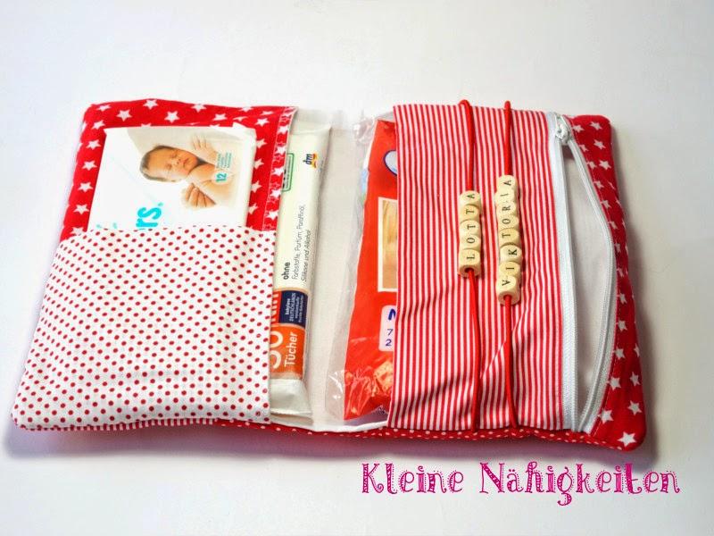 stars stripes windeltasche rot weiss kleine n higkeiten handgemachte taschen. Black Bedroom Furniture Sets. Home Design Ideas