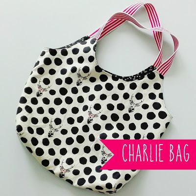 Hirsch trifft Charlie - meine neue Charlie Bag - Kleine Nähigkeiten ...
